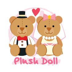 WEDDING_plush_doll