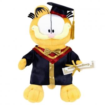 garfield品牌_授權品牌 | Ellon Gift Products Ltd. - Garfield 14 畢業毛公仔