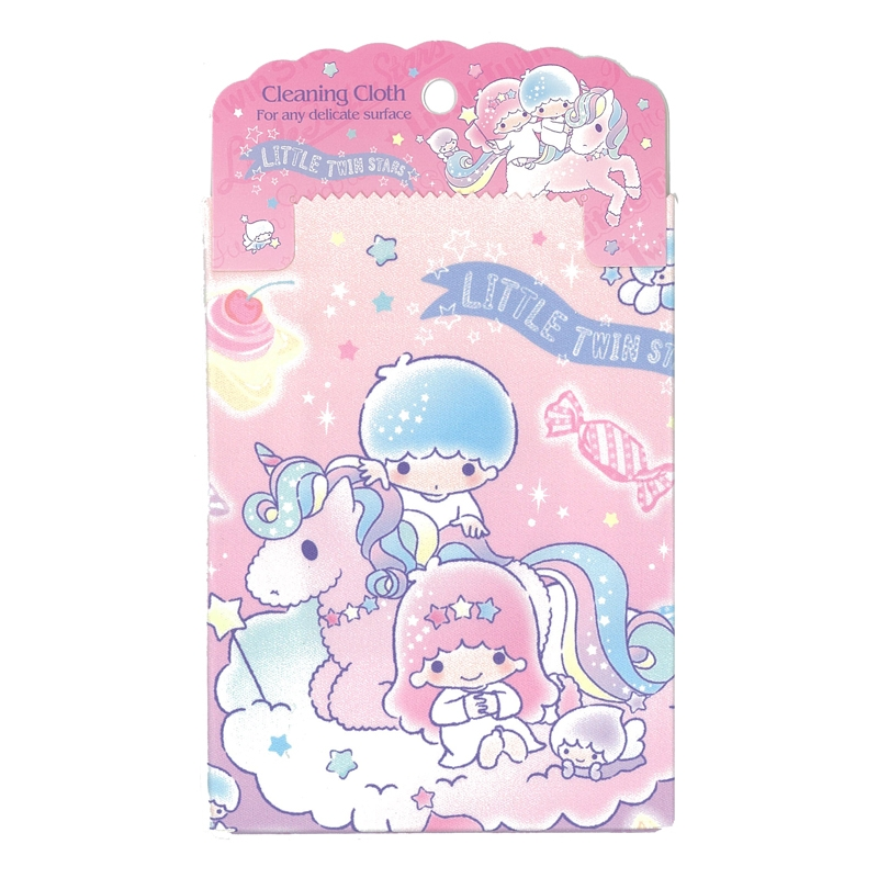 SANRIO HELLO KITTY GLASSES CASE W// CLEANING CLOTH SET 6396