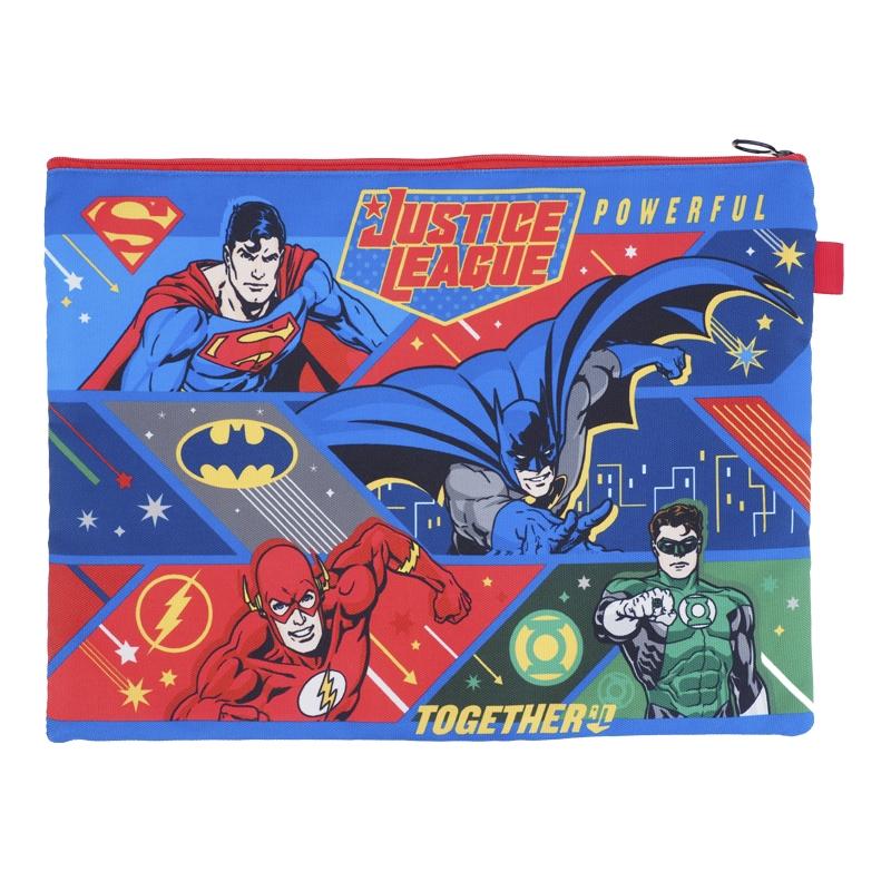 Justice League Zipper Bag